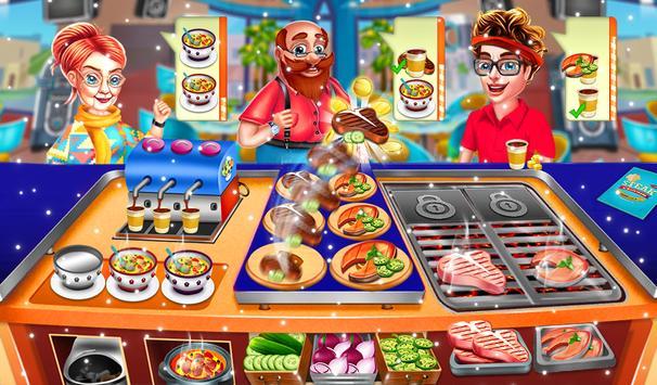 Cooking City Crazy Chef Restaurant Game 2019 screenshot 5