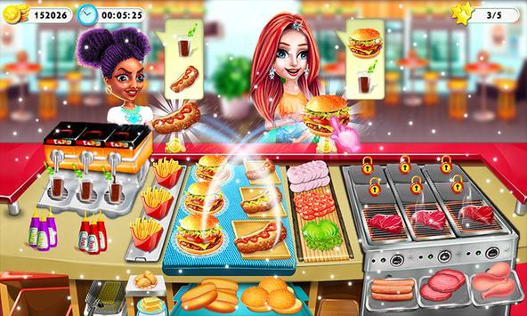Cooking City Crazy Chef Restaurant Game 2019 screenshot 3