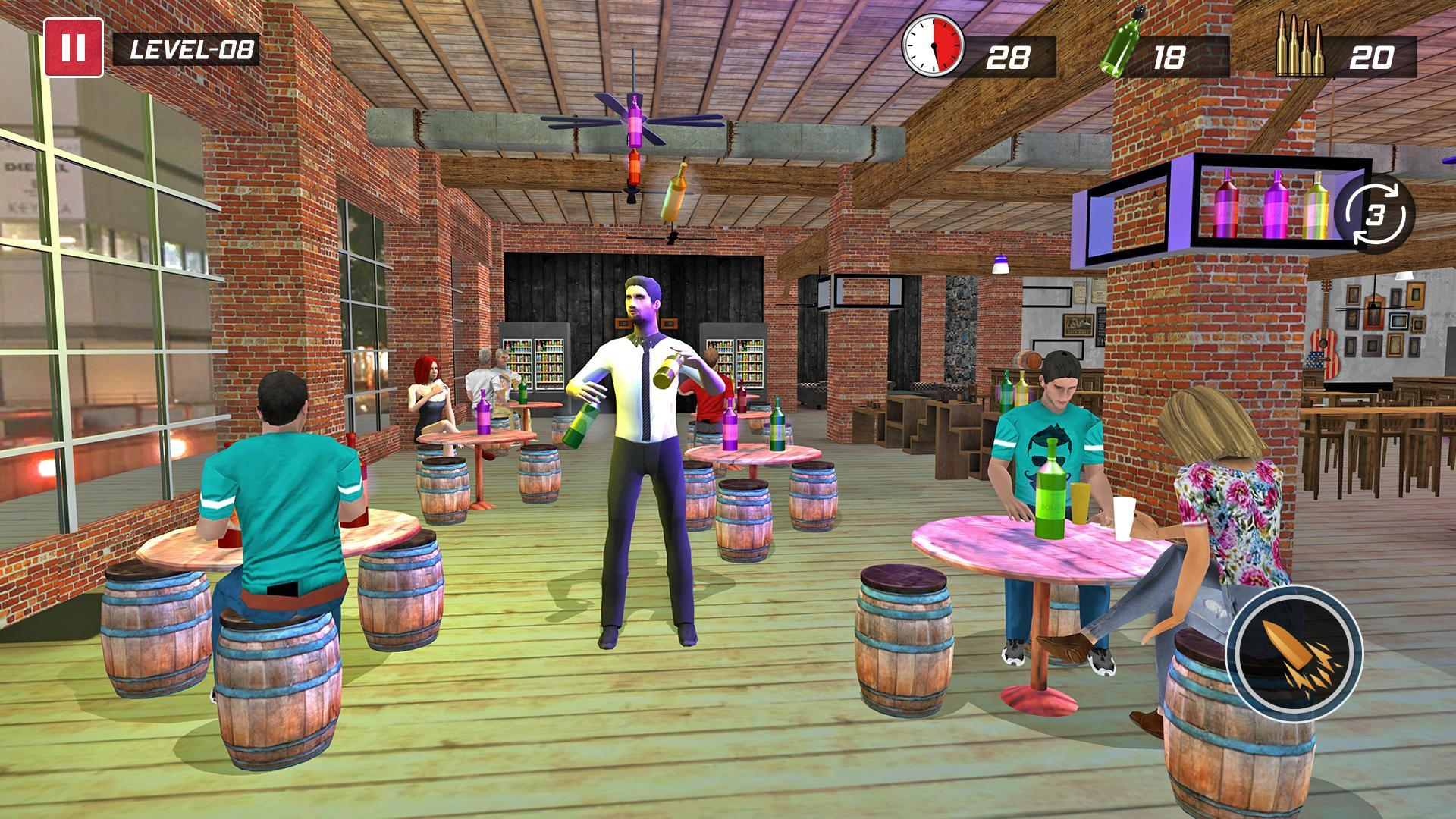 Android Games 2020.Bottle Shooting Games 2020 Free For Android Apk Download