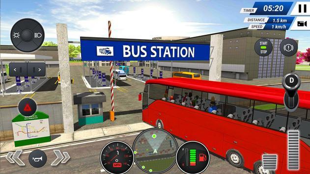 Otobüs Simülatörü 2019 – Ücretsiz - Bus Simulator Ekran Görüntüsü 7