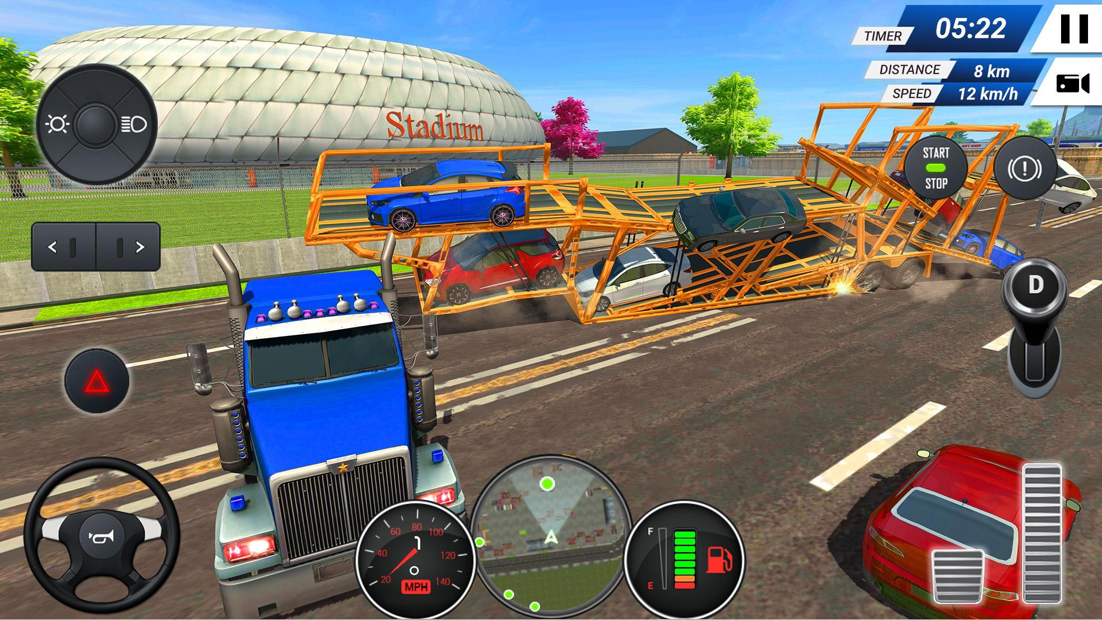 Car Transporter Truck Simulator Game 2019 for Android - APK