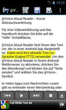 @Voice Aloud Reader Screenshot 1