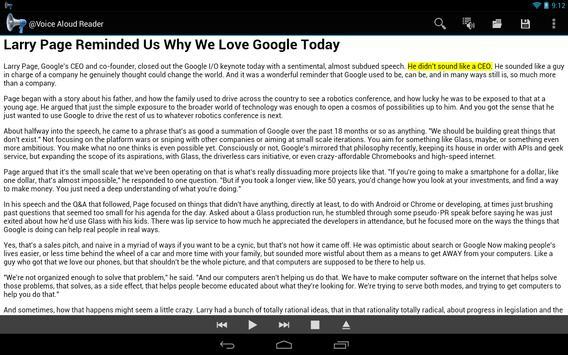 @Voice Aloud Reader screenshot 8