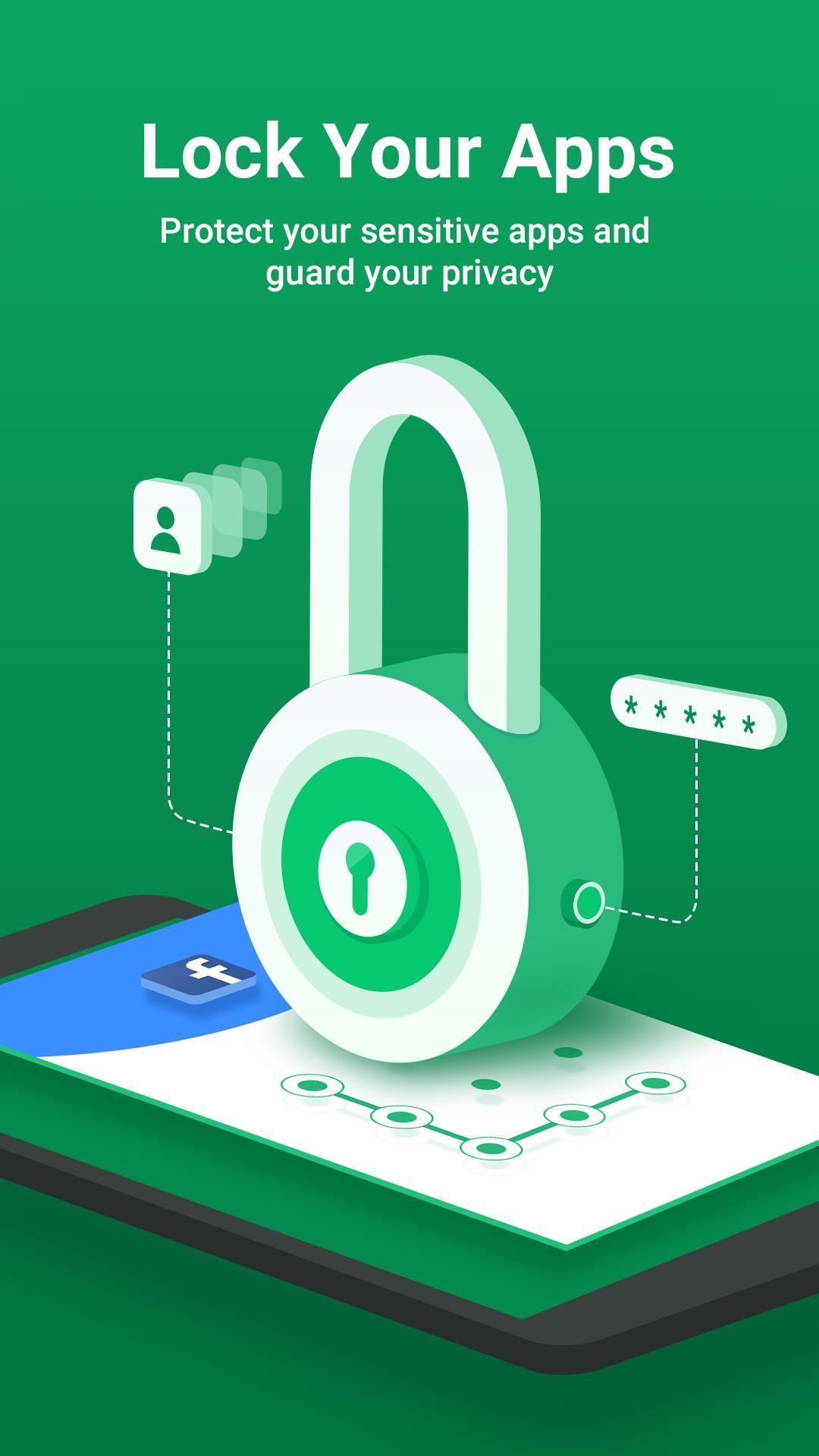 AppLock - Lock Apps, PIN & Pattern Lock versi terbaru