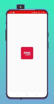 DA FONTS - Get Free Fonts الملصق
