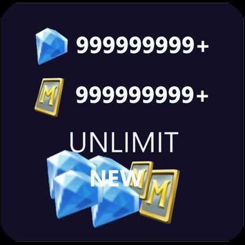 Diamond calculate and tip Mobile Legends bang bang poster