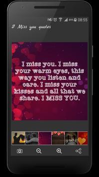 I Miss You Quotes screenshot 1