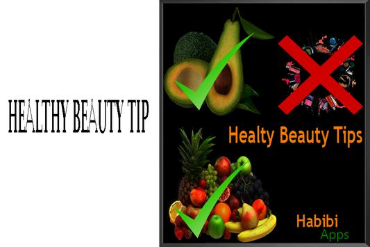 Healthy Beauty Tips poster