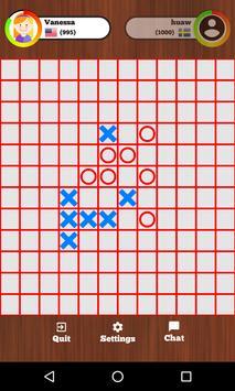 Tic Tac Toe Online - Five in a row screenshot 7