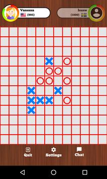 Tic Tac Toe Online - Five in a row poster