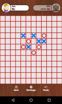 Tic Tac Toe Online - Five in a row screenshot 1