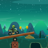 Moto Escape Jungle 2D icon