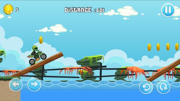 Moto Escape Jungle 2D screenshot 1