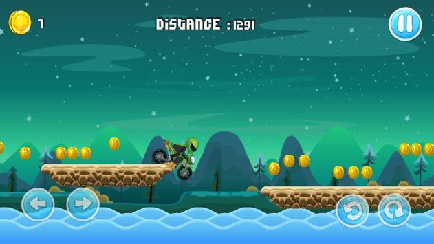 Moto Escape Jungle 2D screenshot 4