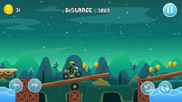 Moto Escape Jungle 2D screenshot 5