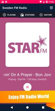 🇸🇪 FM Radio - Sweden 📻 screenshot 2