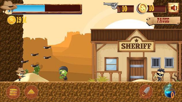 Cowboy Runner screenshot 1