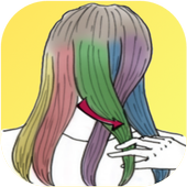Hairstyles quick to learn icon