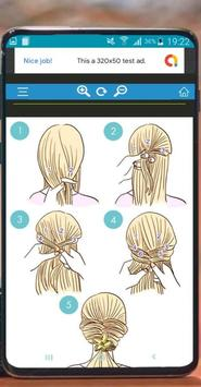 Hairstyles quick to learn poster