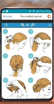 Hairstyles quick to learn screenshot 5