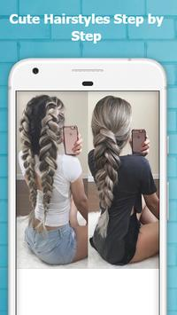Cute Hairstyles Step by Step poster