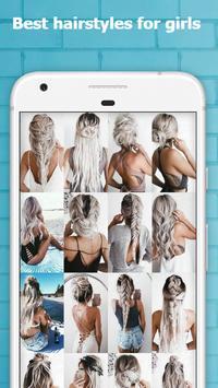 Cute Hairstyles Step by Step screenshot 1