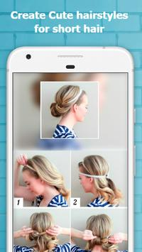 Cute Hairstyles Step by Step screenshot 5
