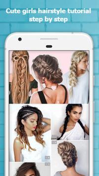 Cute Hairstyles Step by Step screenshot 6