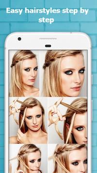 Cute Hairstyles Step by Step screenshot 9