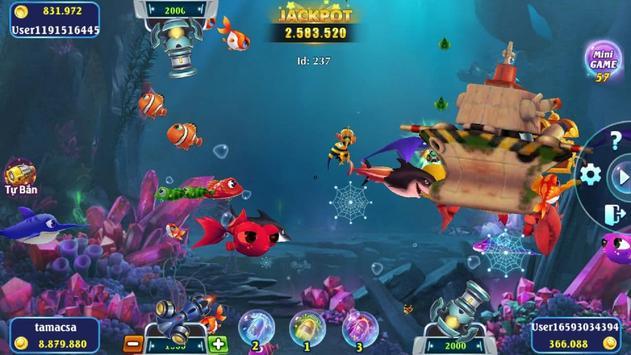 Vua Hải Tặc - Bắn Cá 4D Mới 2021 ảnh chụp màn hình 8