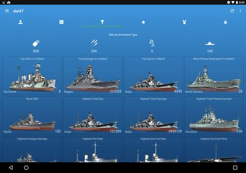 Community Assistant for WoWs スクリーンショット 10