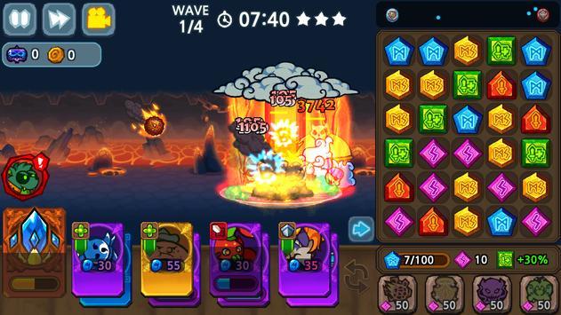 Puzzle & Defense: Match 3 Battle screenshot 13