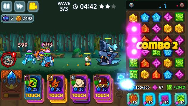 Puzzle & Defense: Match 3 Battle screenshot 18