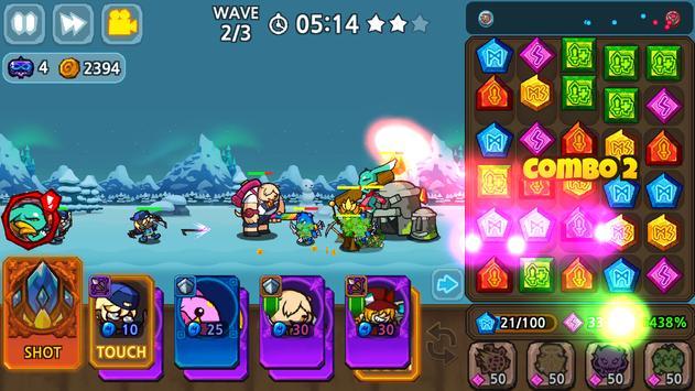 Puzzle & Defense: Match 3 Battle screenshot 6