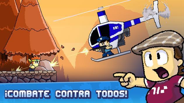 Dan the Man - Juegos de peleas captura de pantalla 10
