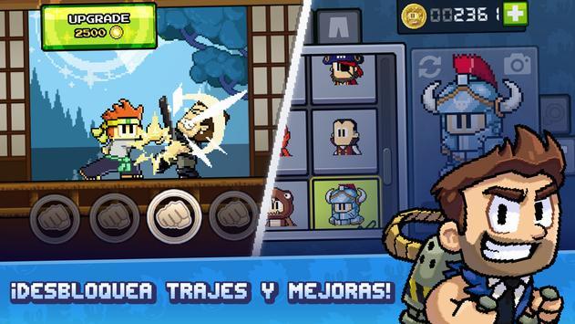 Dan the Man - Juegos de peleas captura de pantalla 4