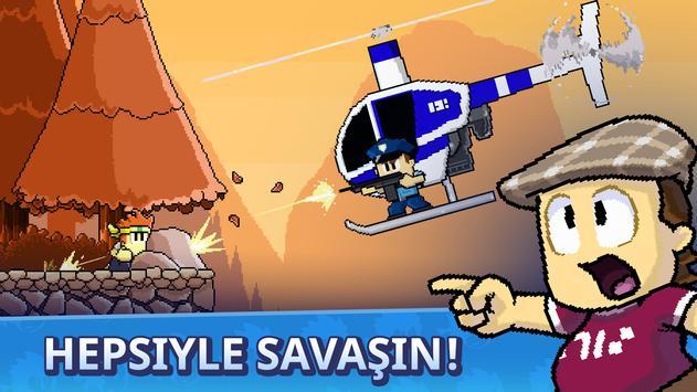 Dan the Man - Dövüş oyunları Ekran Görüntüsü 12