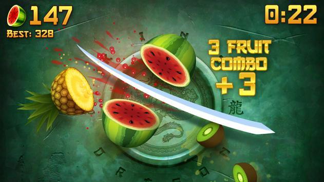 水果忍者® - 爽快切水果 截圖 1