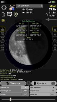Kalkulator teleskop (tanpa iklan) screenshot 8