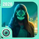 Halloween Light Mask     Photo Editor APK Android