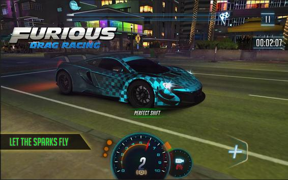 Furious 8 Drag Racing - 2020's new Drag Racing 포스터