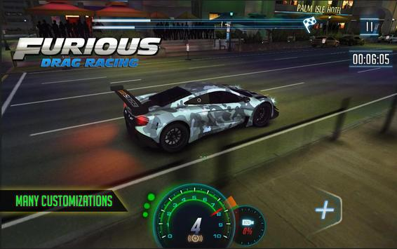 Furious 8 Drag Racing - 2020's new Drag Racing 스크린샷 1