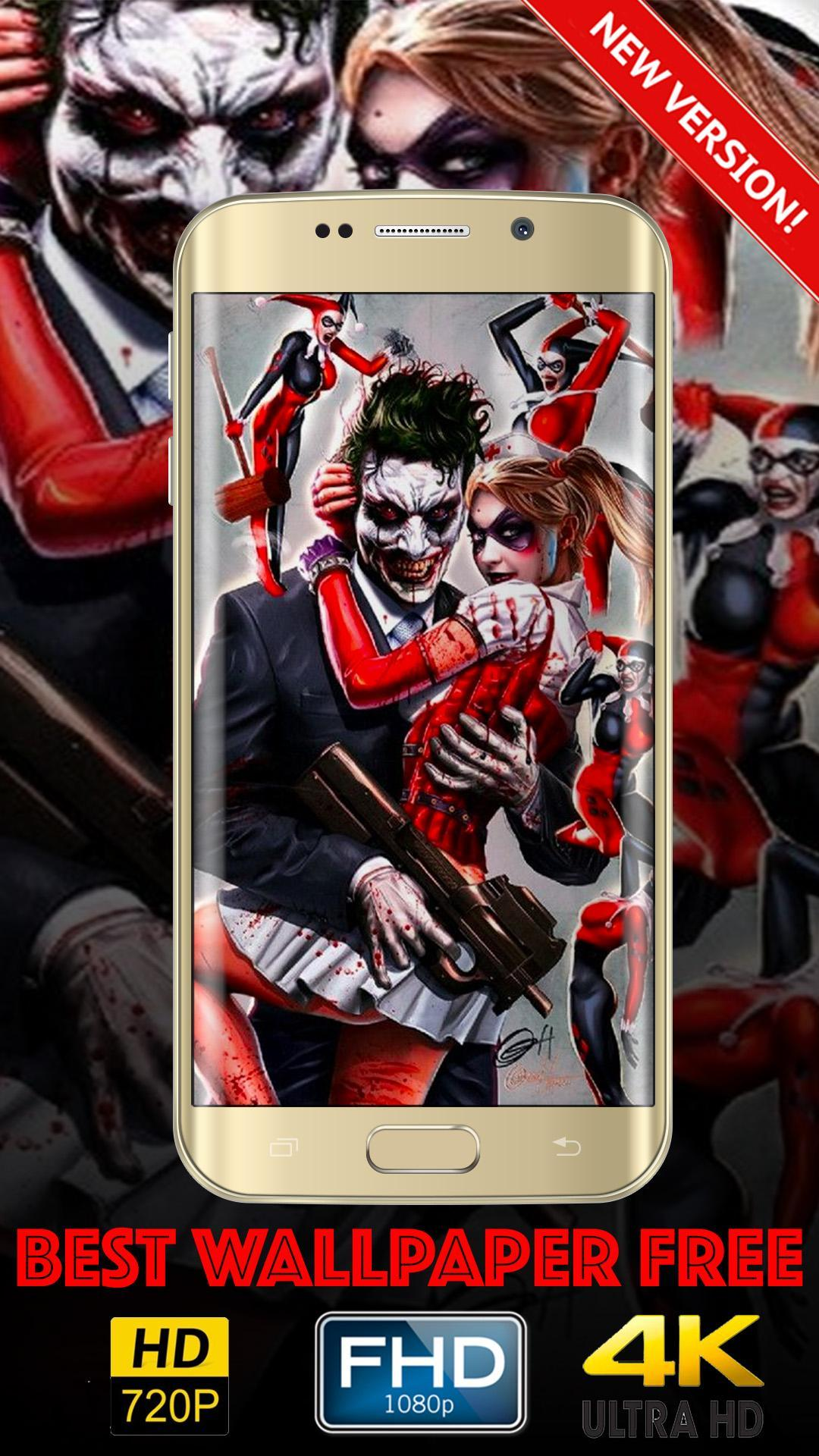 Harley Quinn And Jokers Wallpaper Hd For Android Apk Download