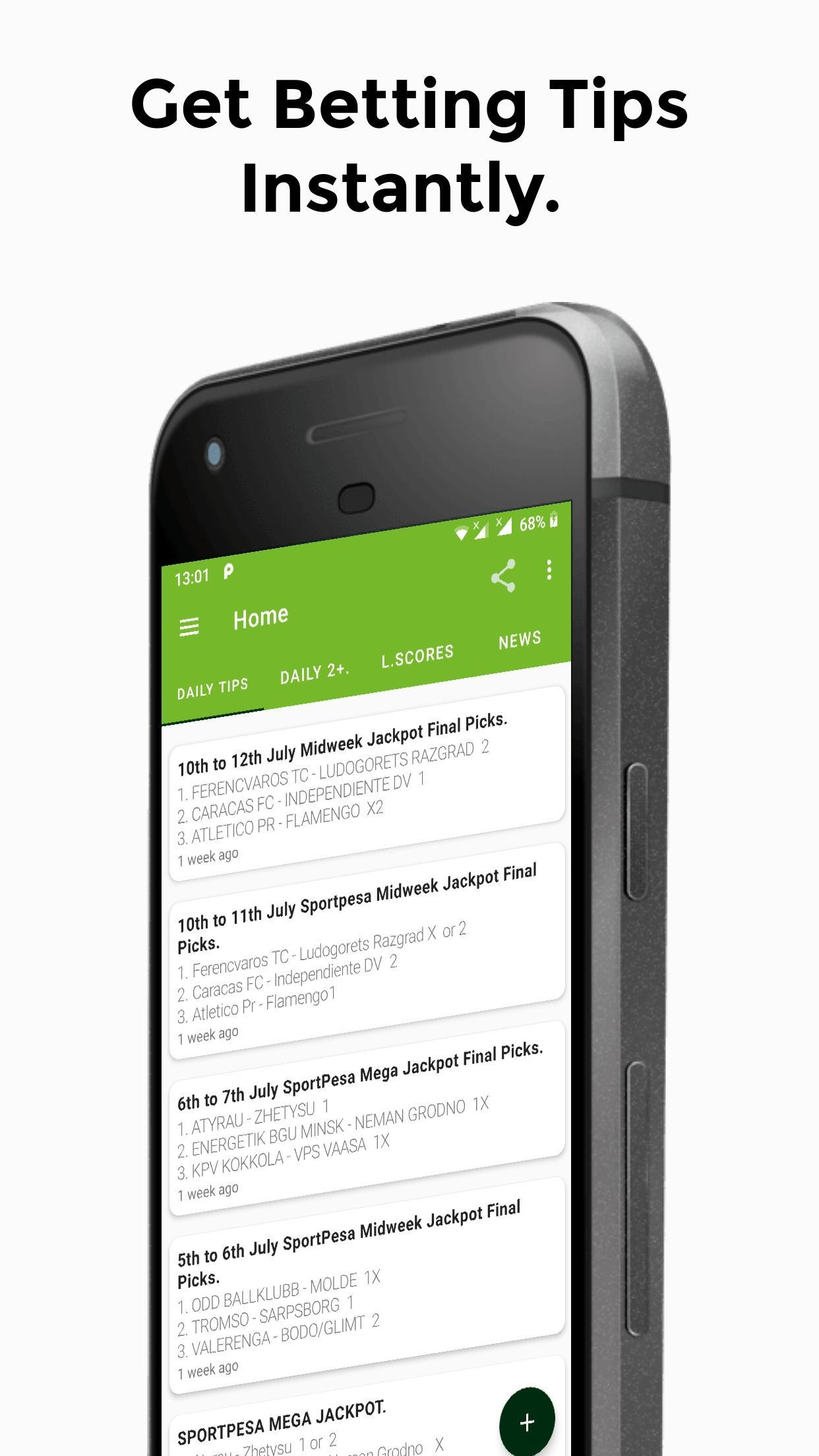 Betika App - Daily Football Predictions  for Android - APK