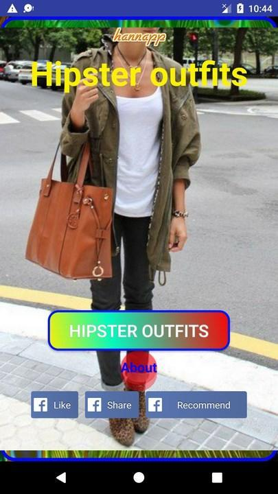 Hipster Clothes poster