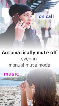 MuteAll Pro  - Mute sounds(Camera, Video etc) screenshot 3