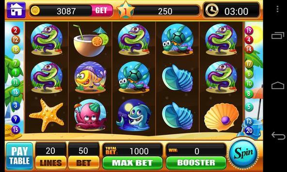 Ocean Story Slots-slot machine screenshot 4