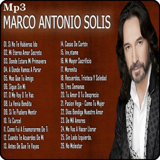 Marco Antonio Solís 30 Super Exitos For Android Apk Download
