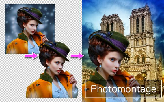 Poster PhotoLayers~Superimpose,Eraser