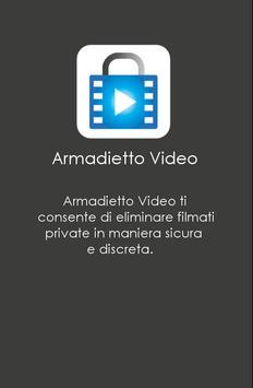 Poster Armadietto Video